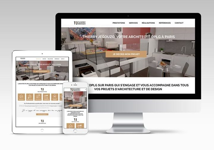 Site-web Thierry Jegouzo